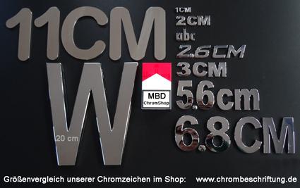 3d Buchstaben Autobuchstaben Chrombuchstaben Chrom